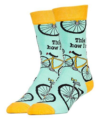 f0b866d8bcd89 Oooh Yeah Socks ! - Mens Crew - How I Roll - Import It All