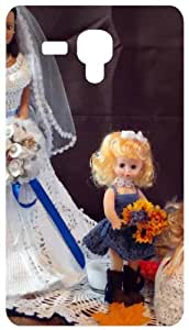 Wedding Dress Dolls Back Cover Case for Samsung Galaxy I8190 / SIII Mini / S3 Mini