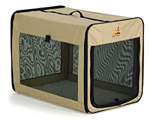 Midwest Canine Camper Day Tripper Soft Sided Crate, 31 Inches by 22 Inches by 24 Inches
