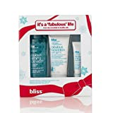 Bliss It's a Fabulous Life Gift Set: foaming face wash (full size), every day eye cream (full size), face lotion with spf 15 (full size) WORTH £70