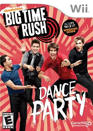 Big Time Rush: Dance Party (Nintendo Wii)
