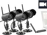 VisorTech Digitales PC-Funk-Überwachungs… mit 4 Infra...