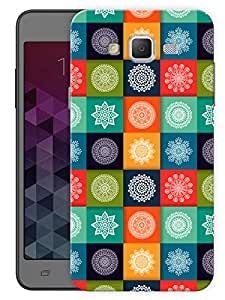 "Humor Gang Mandala Art Printed Designer Mobile Back Cover For ""Samsung Galaxy J5"" (3D, Matte, Premium Quality Snap On Case)"