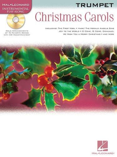 Image for Christmas Carols Trumpet BK/CD (Hal Leonard Instrumental Play-Along)