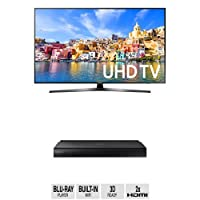 Samsung UN55KU7000 55-Inch TV with BD-J7500 Blu-ray Player