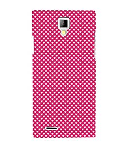 Valentines Day pattern 3D Hard Polycarbonate Designer Back Case Cover for Micromax Canvas Xpress A99