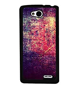 Bright Red Purple Pattern 2D Hard Polycarbonate Designer Back Case Cover for LG L90