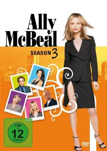 DVD ALLY MCBEAL SEASON 3