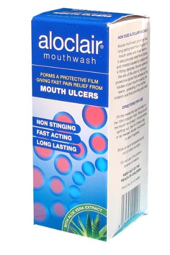 ALOCLAIR MOUTH ULCER M/WASH 120ML