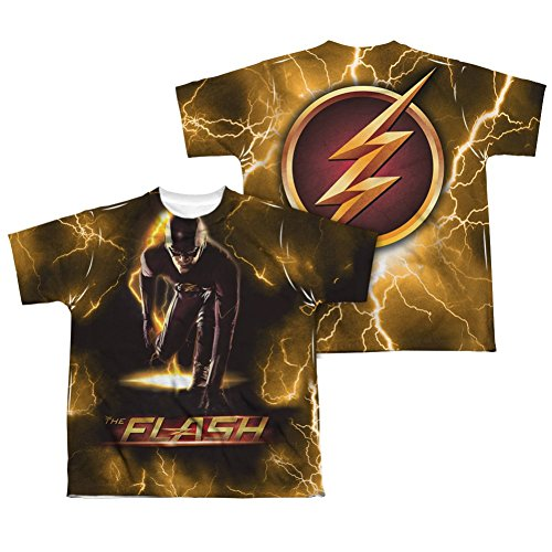 Sublimation: Front/Back Youth - Bolt The Flash T-Shirt