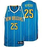 Austin Rivers New Orleans Hornets Aqua NBA Youth Swingman Revolution 30 Jersey