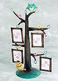 Bali Mantra Owl Tree Photo Frame (4 Frames)