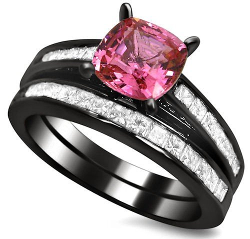 Your 1 Source for Jewelry and Accessories 2 32ct cushion cut pink sapphire