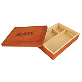 Raw® Special Wood Rolling Box