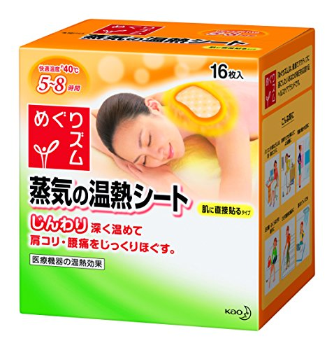 Kao MEGURISM | Health Care | Steam Warm Sheets x 16