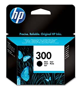 HP 300 - Black Ink Cartridge (CC640EE)