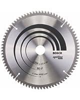 Bosch 2608640437 Lame de scie circulaire Optiline Wood pour scies à onglets radiales Ø 254 mm, 80 dents,1 pièce