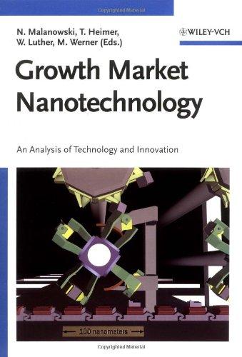 Growth Market Nanotechnology: An Analysis of Technology and Innovation