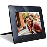 NIX 7 Inch Hu-Motion Digital Photo Frame - X07F. Motion Sensor for Auto On Off & Hi Res 800 x 480 Screen