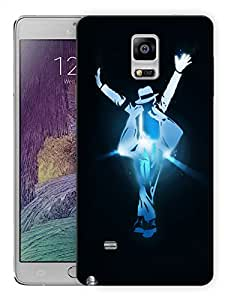 "Humor Gang Mj For Life - Dance Printed Designer Mobile Back Cover For ""Samsung Galaxy Note 4"" (3D, Matte, Premium Quality Snap On Case)"