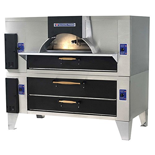Bakers Pride IL Forno Classico Old World Gas Fired Brick Single Deck Oven, 78 x 43 x 71 inch -- 1 each.