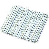 Pinolino 71585-2 - Wickelauflage Komfort, Folie, Streifen blau/grün