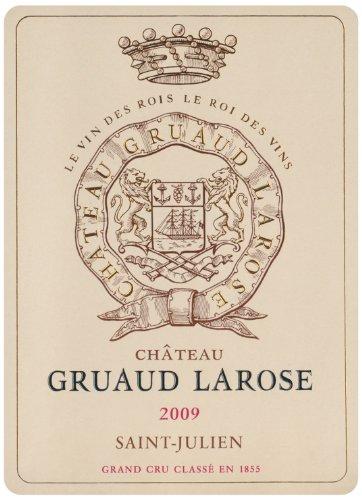 2009 Chateau Gruaud Larose Saint Julien Bordeaux 750 Ml