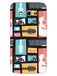 Designer Printed Phone Cover for Samsung Grand 2 - MTV Gone Case - Keep Calm And Play Guitar - Colorful - Hard Back Shell Cover - By MTV India