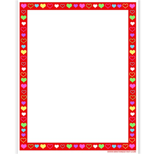 Hearts! Magnetic Dry Erase Board with Dry Erase Marker (Great Gift Idea)