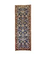 L'Eden del Tappeto Alfombra Varamin Azul / Multicolor 295  x  103 cm