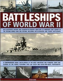 Illustrated Encylopedia Battleships Cruisers Captain Peter Hore