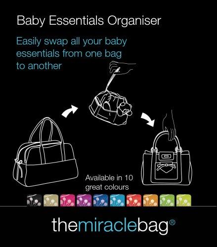 Baby Essentials Organiser - Dark Blue