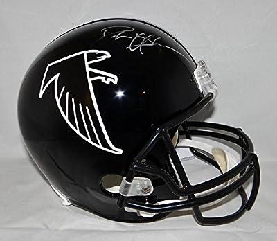 Deion Sanders Autographed Silver Atlanta Falcons Full Size Helmet- JSA W Auth
