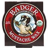 Badger Balm - Mustache Wax - Navigator Class Man Care - .75 oz