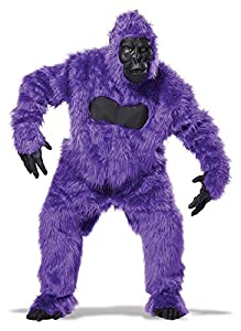 California Costumes Men's Full Gorilla Suit Costume, Purple, One Size