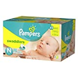 Pampers Swaddlers Diapers Newborn 240 Ct