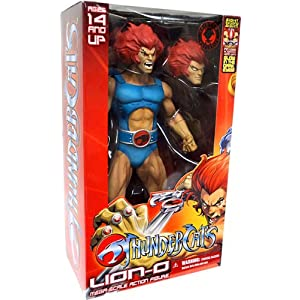Thundercats 2011 Action Figures on Mezco Thundercats 2011 Sdcc Exclusive Mega Scale 14 Inch Action Figure
