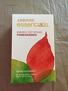 Amazon Com Arbonne Energy Fizz Sticks Pomegranate