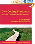 C++ Coding Standards: 101 Rules, Guid...