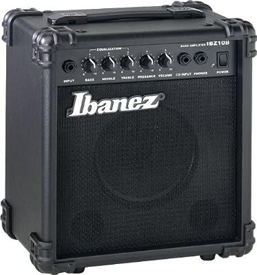 Ibanez IBZ10B Rehearsal Rig 10-Watt Electric Bass Guitar Combo Amp