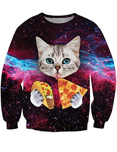 ninimour-womenscrew-neck-pizza-cat-galaxy-printed-sweatshirt