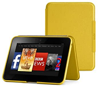 """Amazon Kindle Fire HD 7"""" Standing Leather Cover, Honey (will only fit Kindle Fire HD 7"""" [Previous Generation])"""