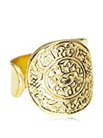 Córdoba Joyeros Anillo Denario Oro (plata de ley 925 milésimas)