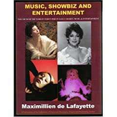World Who's Who in Jazz, Cabaret, Music and Entertainment. Volume III: Music SHOWBIZ AND ENTERTAINMENT
