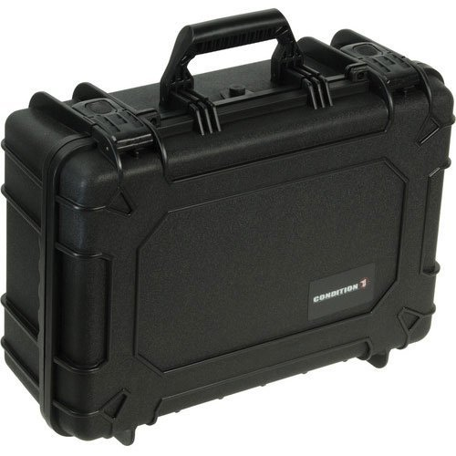 Condition 1 #227 Black Airtight/Watertight Protective Case with Pick N Pluck Foam (Condition 1 Pistol Case compare prices)