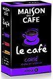 Maison du Café Classique Café corsé 225 g - Lot de 6