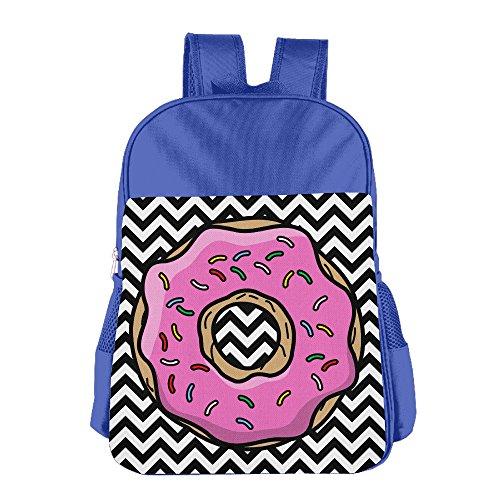 launge-kids-donut-cartoon-school-bag-backpack