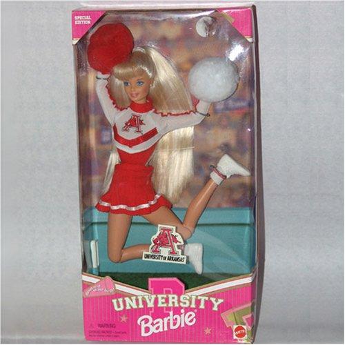 University of Arkansas University Barbie - Buy University of Arkansas University Barbie - Purchase University of Arkansas University Barbie (Mattel, Toys & Games,Categories,Dolls)