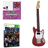 Mad Catz Rock  Band 3 PRO-Guitar Bundle ? Includes: Red Hot Chili Peppers Bonus Tracks, Full  Game, and Fender Mustang PRO-Guitar Controller for Xbox 360