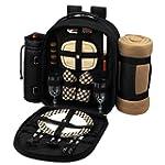 Picnic Backpack Cooler w/ Blanket For...